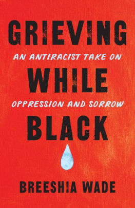Grieving While Black book cover
